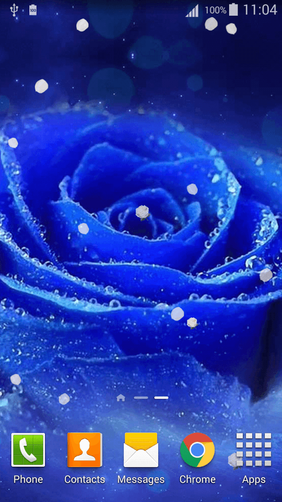 5 59958 3d rose live wallpaper blue rose