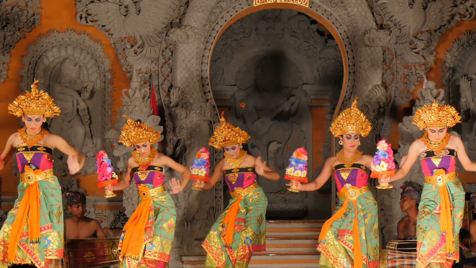 group of balinese dancers dancing performing on stage barong dance 501183 hd wallpaper backgrounds download balinese dancers dancing performing