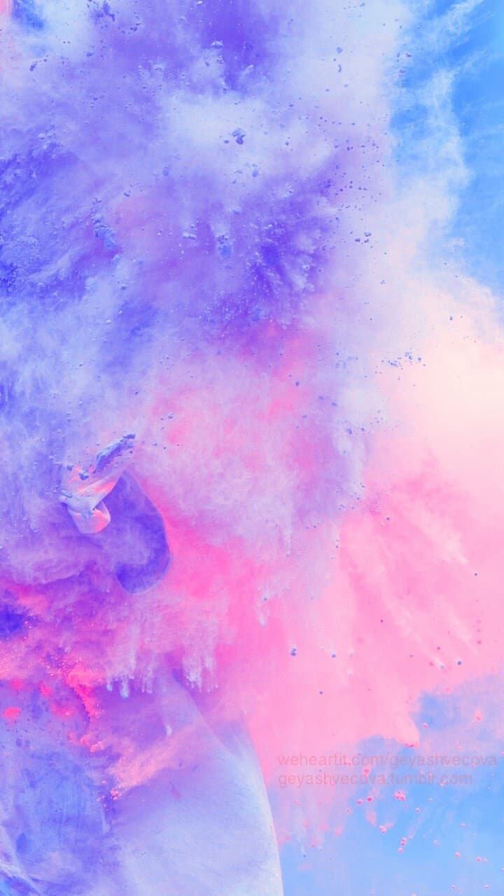Wallpaper, Background, And Beautiful Image - Watercolor Galaxy Aesthetic Background , HD Wallpaper & Backgrounds