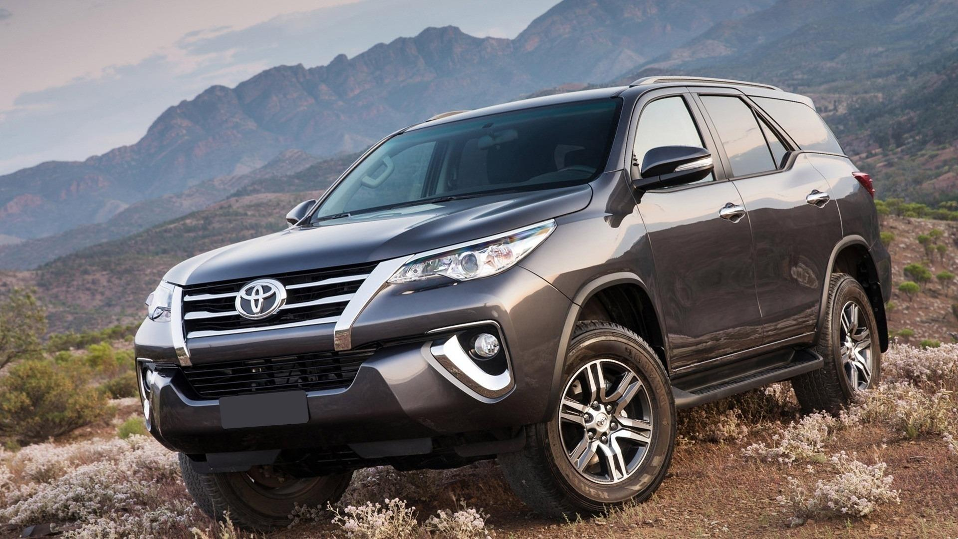 Toyota Fortuner Hd Wallpaper - Toyota Fortuner 2019 Black , HD Wallpaper & Backgrounds