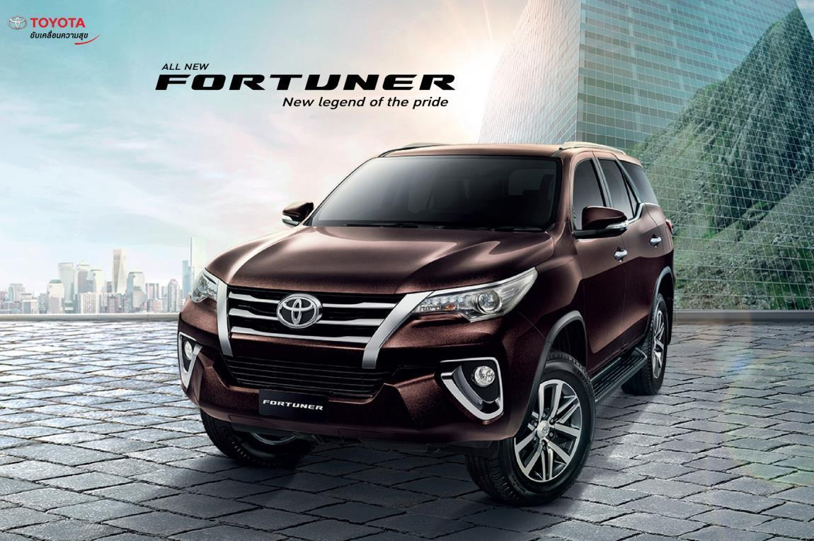 All-new 2016 Toyota Fortuner Officially Unleash - All New Fortuner Car , HD Wallpaper & Backgrounds