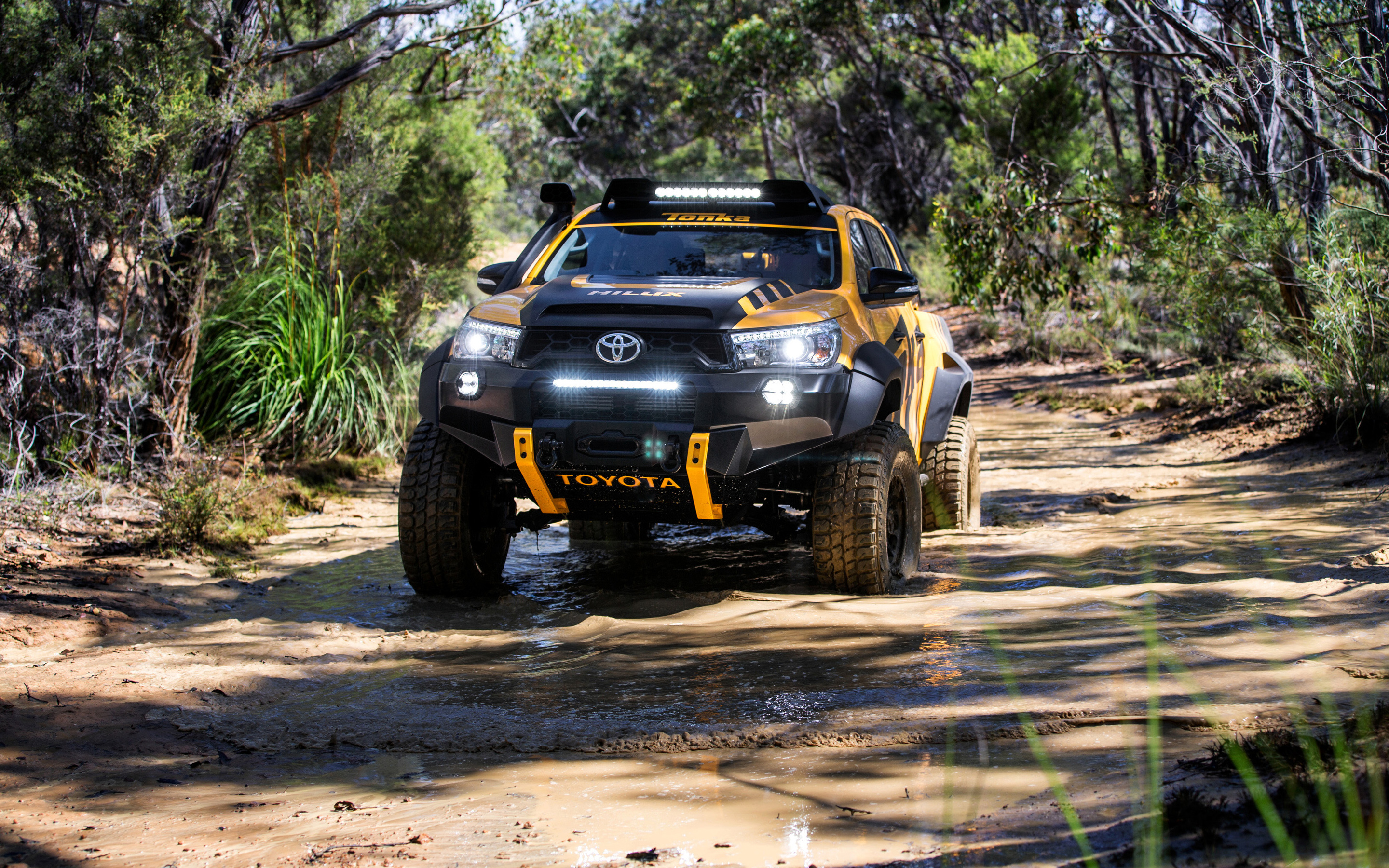 Concept Toyota Hilux - Toyota Hilux , HD Wallpaper & Backgrounds