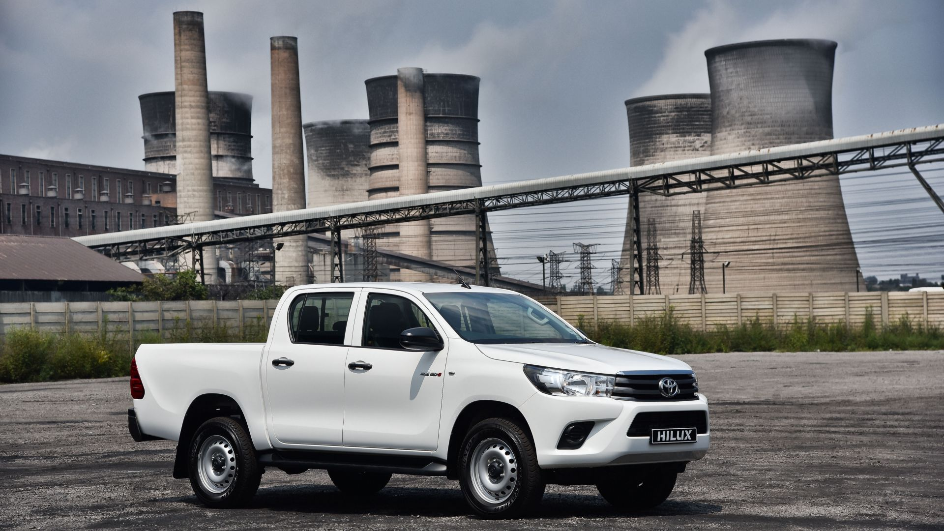 Toyota Hilux, 4x4, Srx, Double Cab, Pickup, White - Toyota Hilux 2017 White , HD Wallpaper & Backgrounds