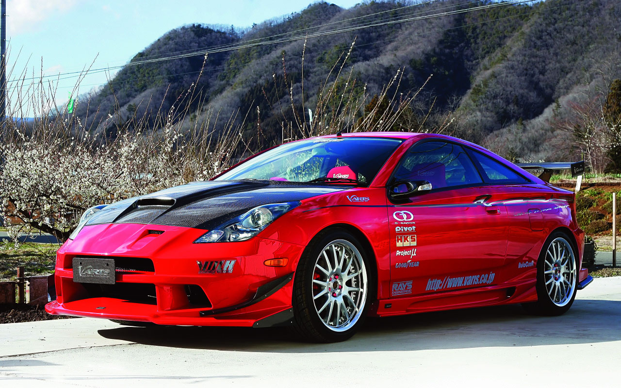 Toyota Celica Sport Tuning - Toyota Celica Tuning Japan , HD Wallpaper & Backgrounds