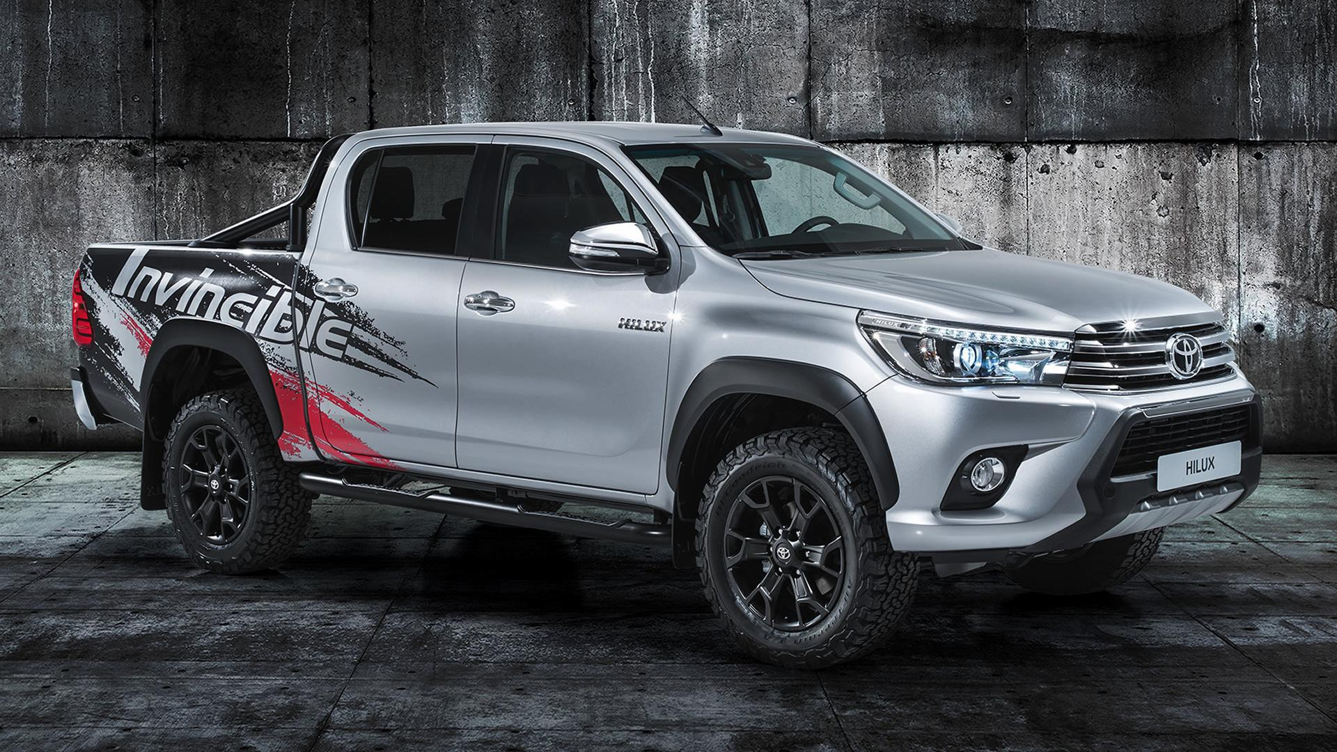 Hilux Wallpaper - Toyota Hilux 2017 , HD Wallpaper & Backgrounds