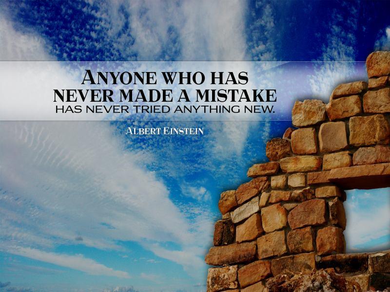 Free Wallpaper With Inspirational Albert Einstein Quote ...