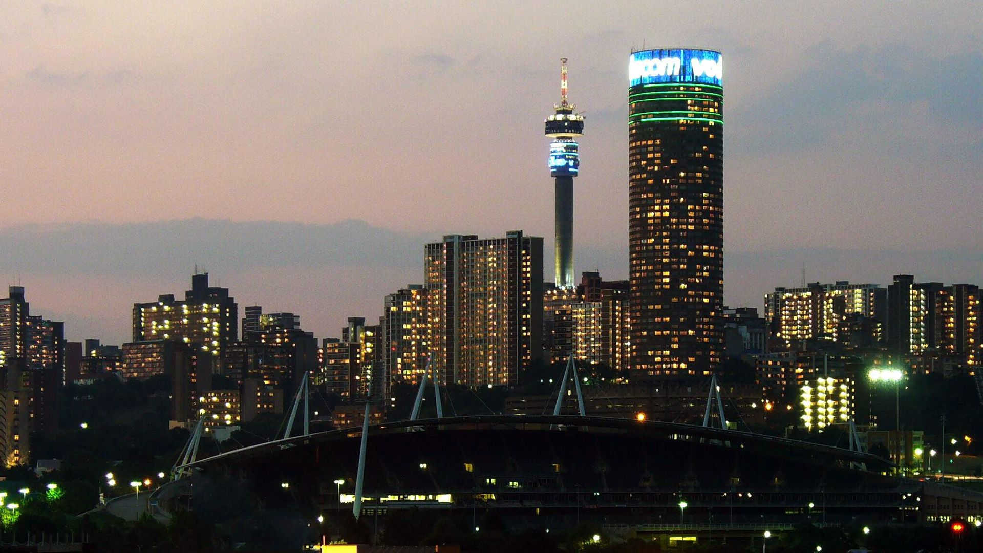 For Your Desktop Johannesburg Wallpapers 45 Top Quality - Johannesburg South Africa City , HD Wallpaper & Backgrounds