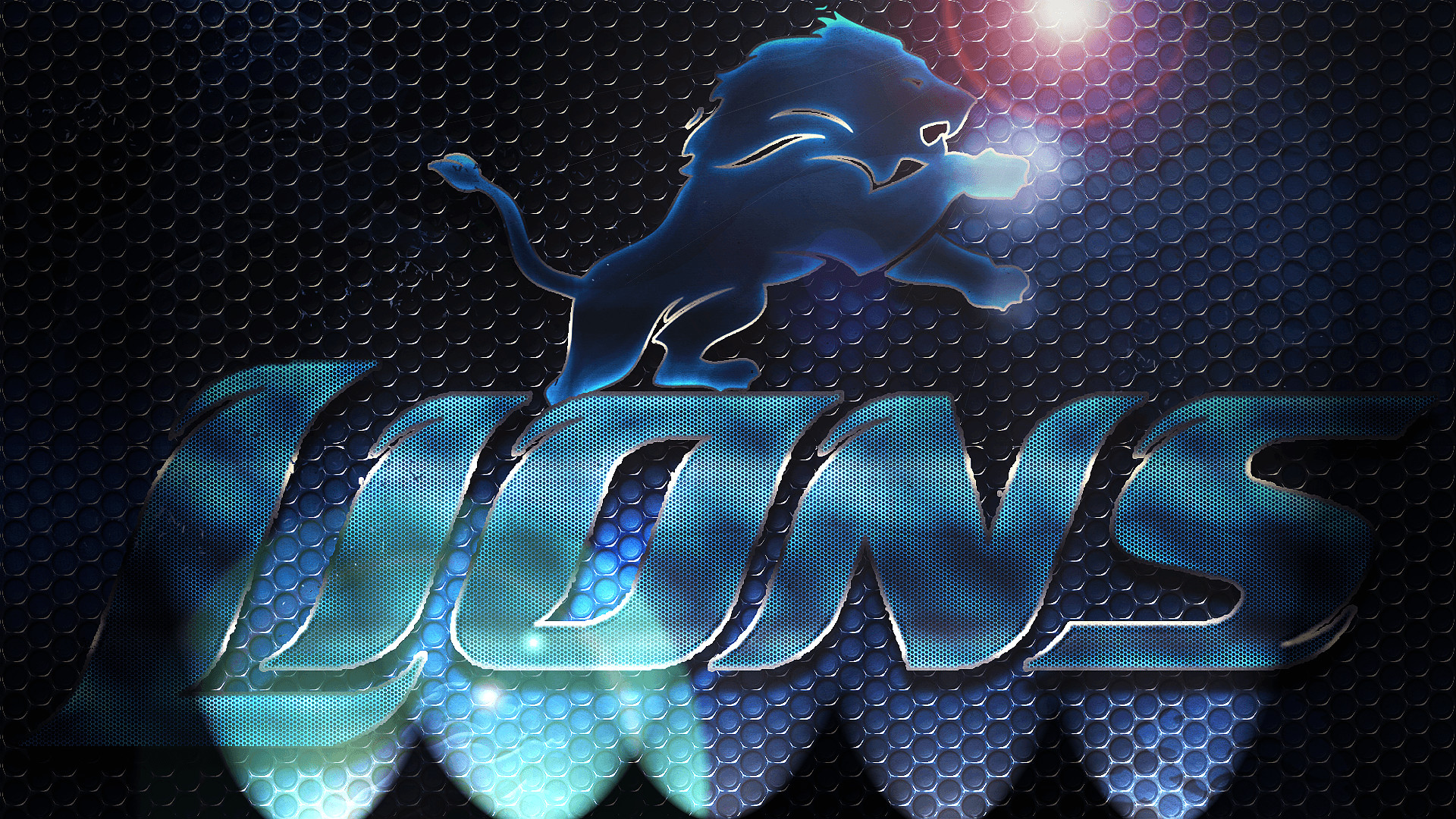 Hd Detroit Lions Wallpaper - Logo Wallpaper Detroit Lions , HD Wallpaper & Backgrounds