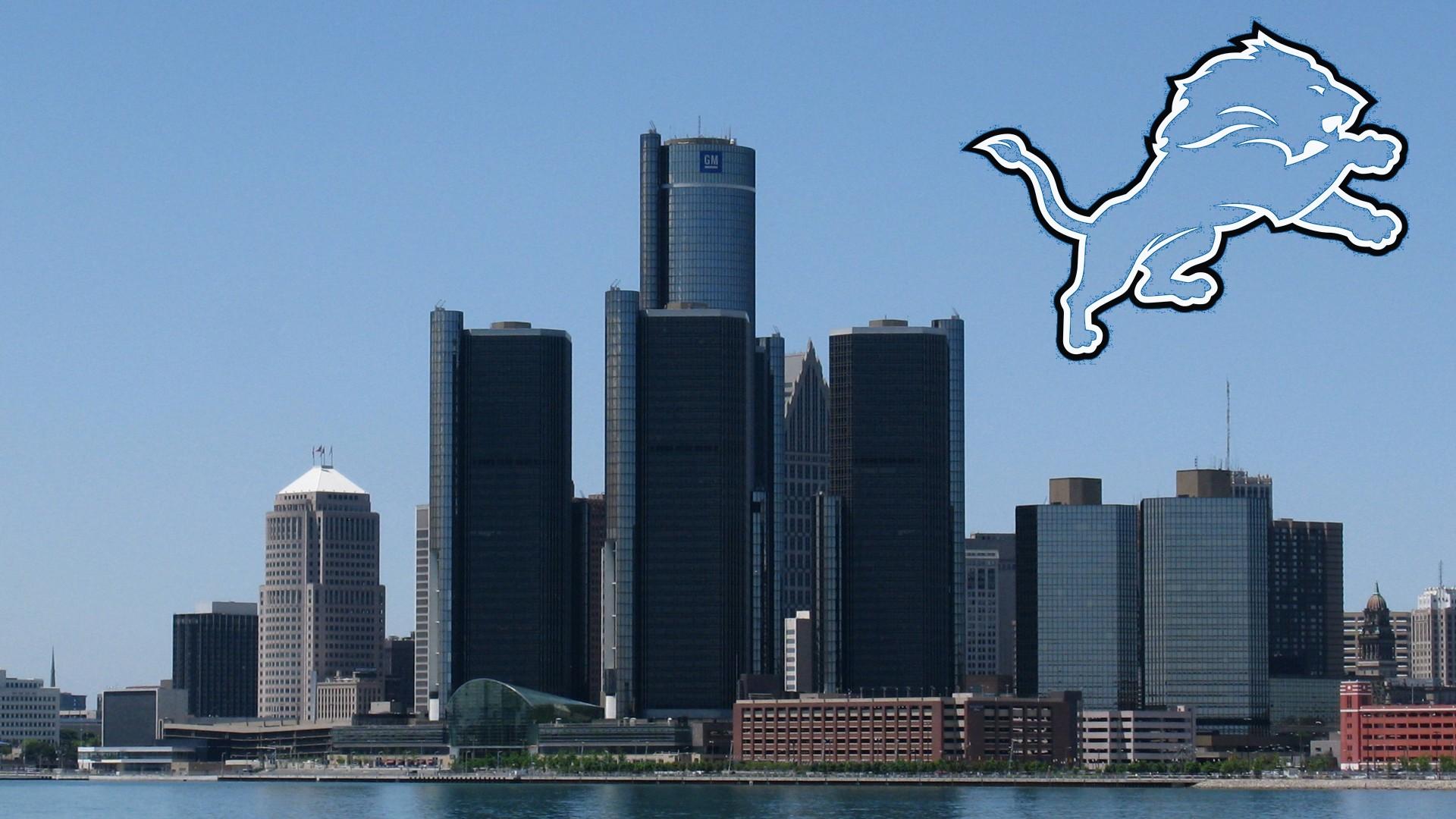 Download Detroit Skyline Hd 509627 Hd Wallpaper Backgrounds Download