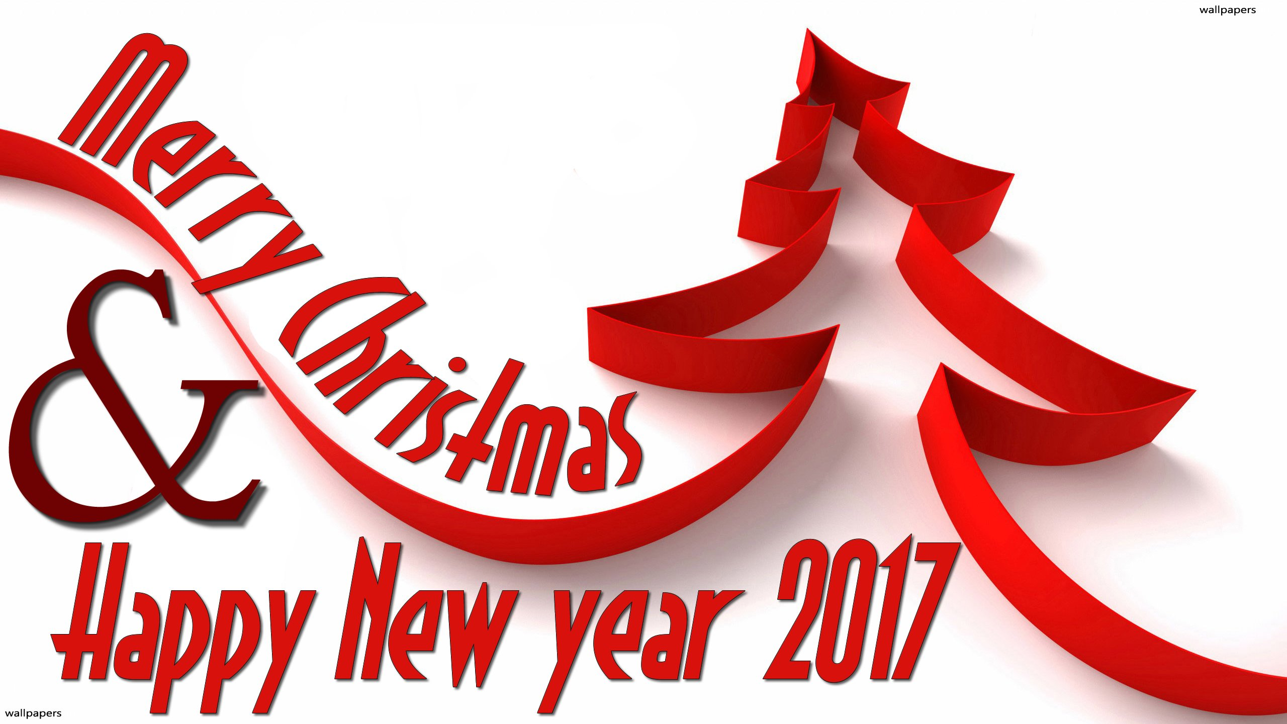 Happy New Year 2019 Ka Video With Merry Christmas And - Christmas & New Year Wishes 2018 , HD Wallpaper & Backgrounds