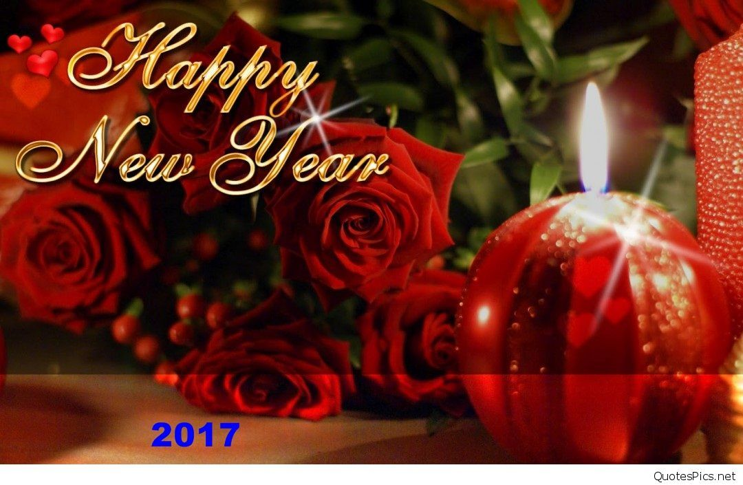 New Year 2015 Greetings Wallpaper - Happy New Year 2019 Rose , HD Wallpaper & Backgrounds