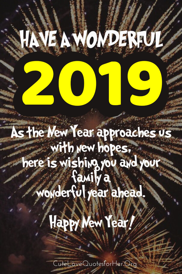 New Year Greeting Cards - New Year 2019 Greeting , HD Wallpaper & Backgrounds