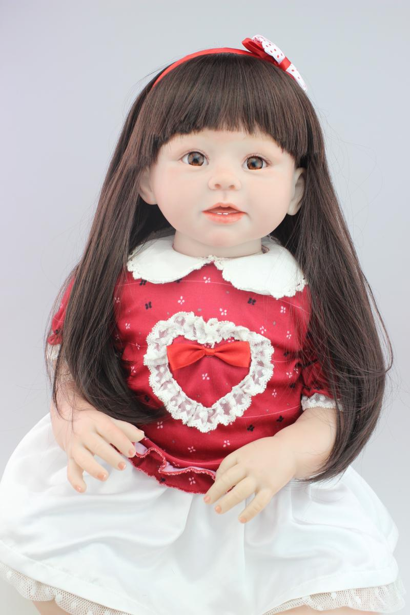 Worjaku Zone - Reborn Toddler Dolls Long Hair , HD Wallpaper & Backgrounds