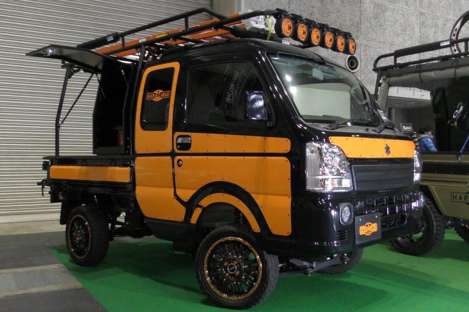 Download [4k]japanese Mini Truck Japan's Mini Car (kei - Kei Car Pickups , HD Wallpaper & Backgrounds
