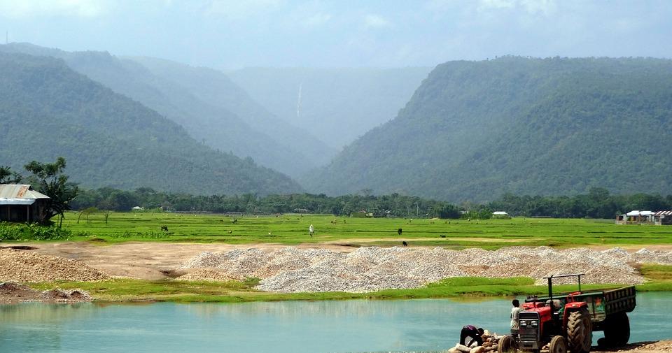 Bisnakandi, Sylhet, Bangladesh, Beauty - Bangladesh Summer , HD Wallpaper & Backgrounds
