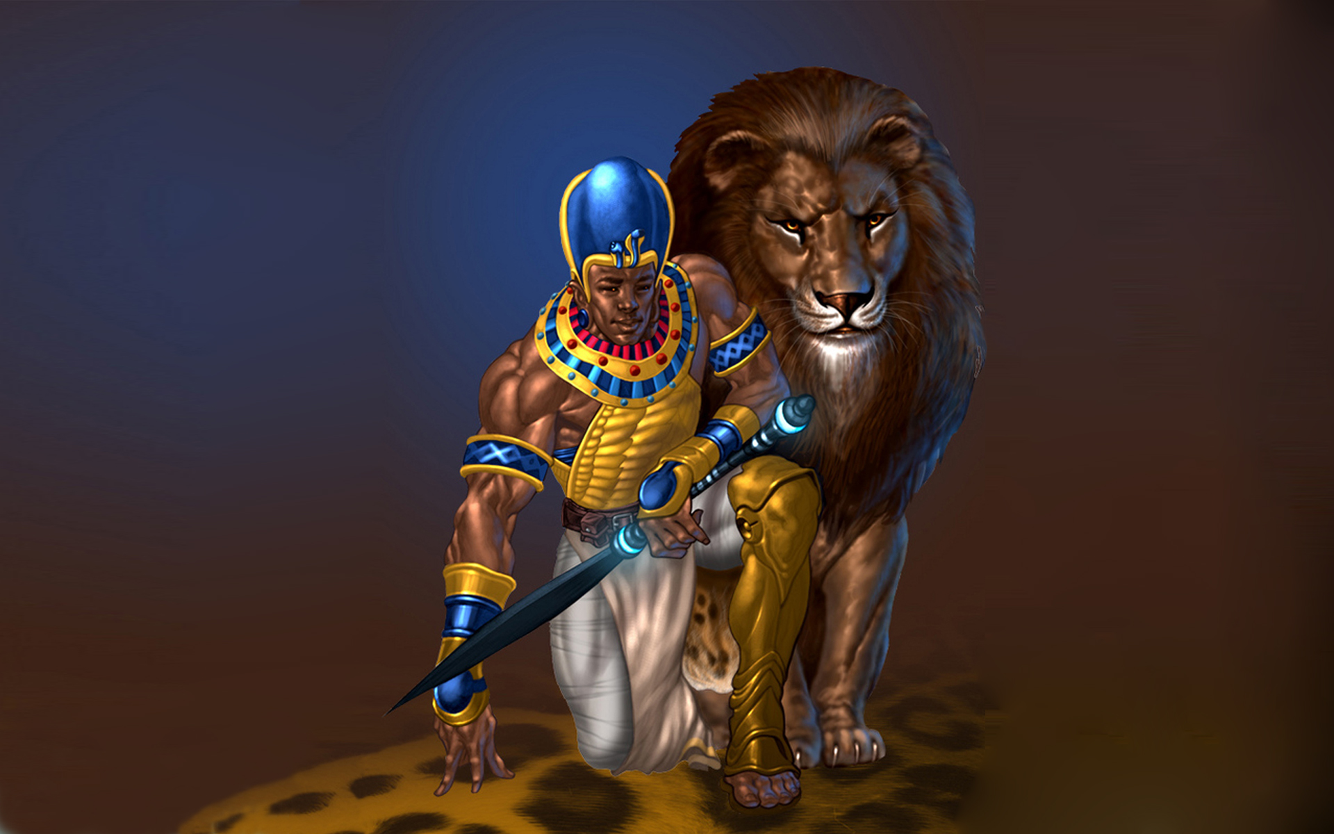 African Warrior , HD Wallpaper & Backgrounds