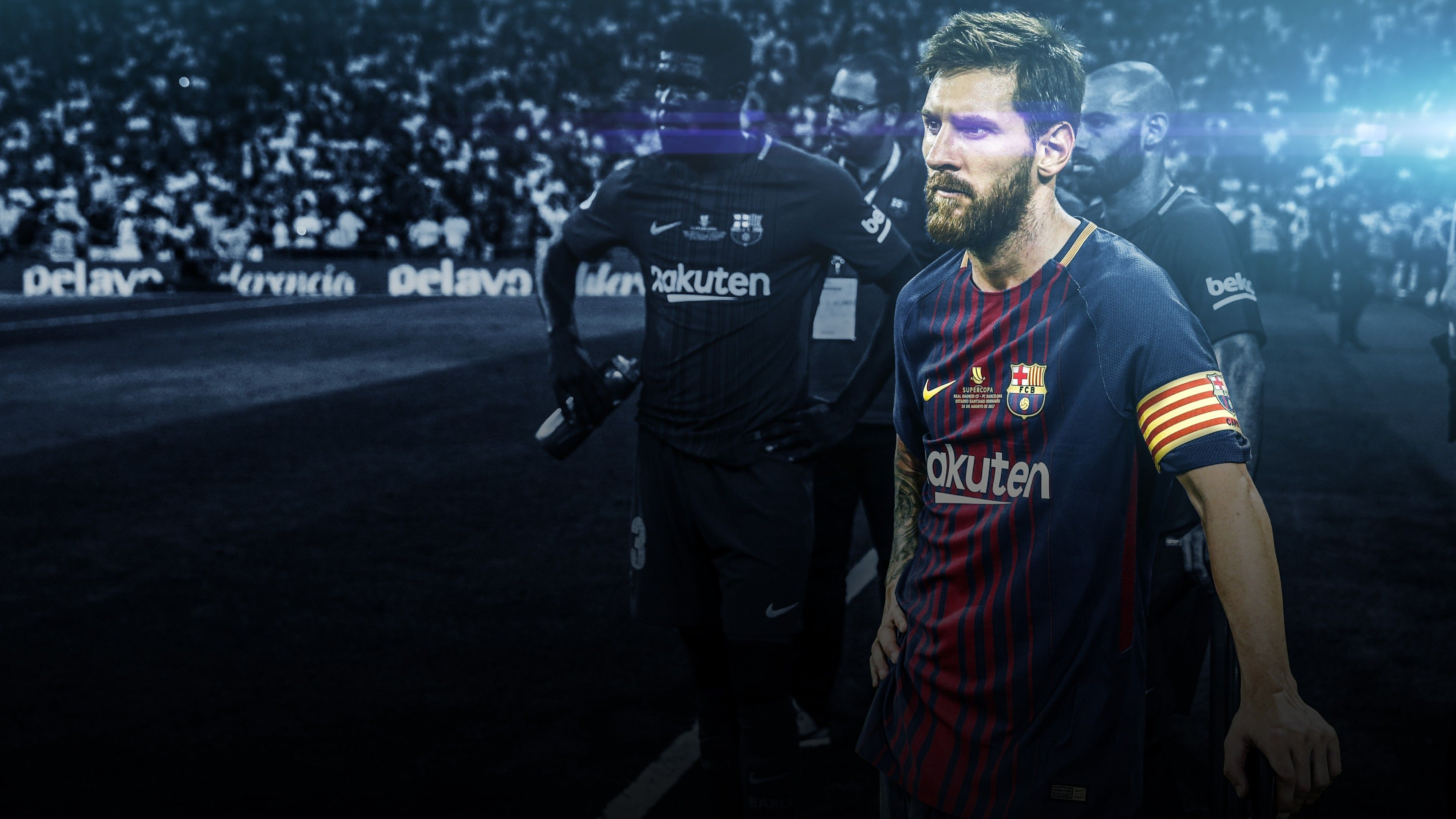 Wallpaper Lionel Messi, Fc Barcelona, Fcb, 4k, Sports, - Lionel Messi Wallpapers 2018 , HD Wallpaper & Backgrounds