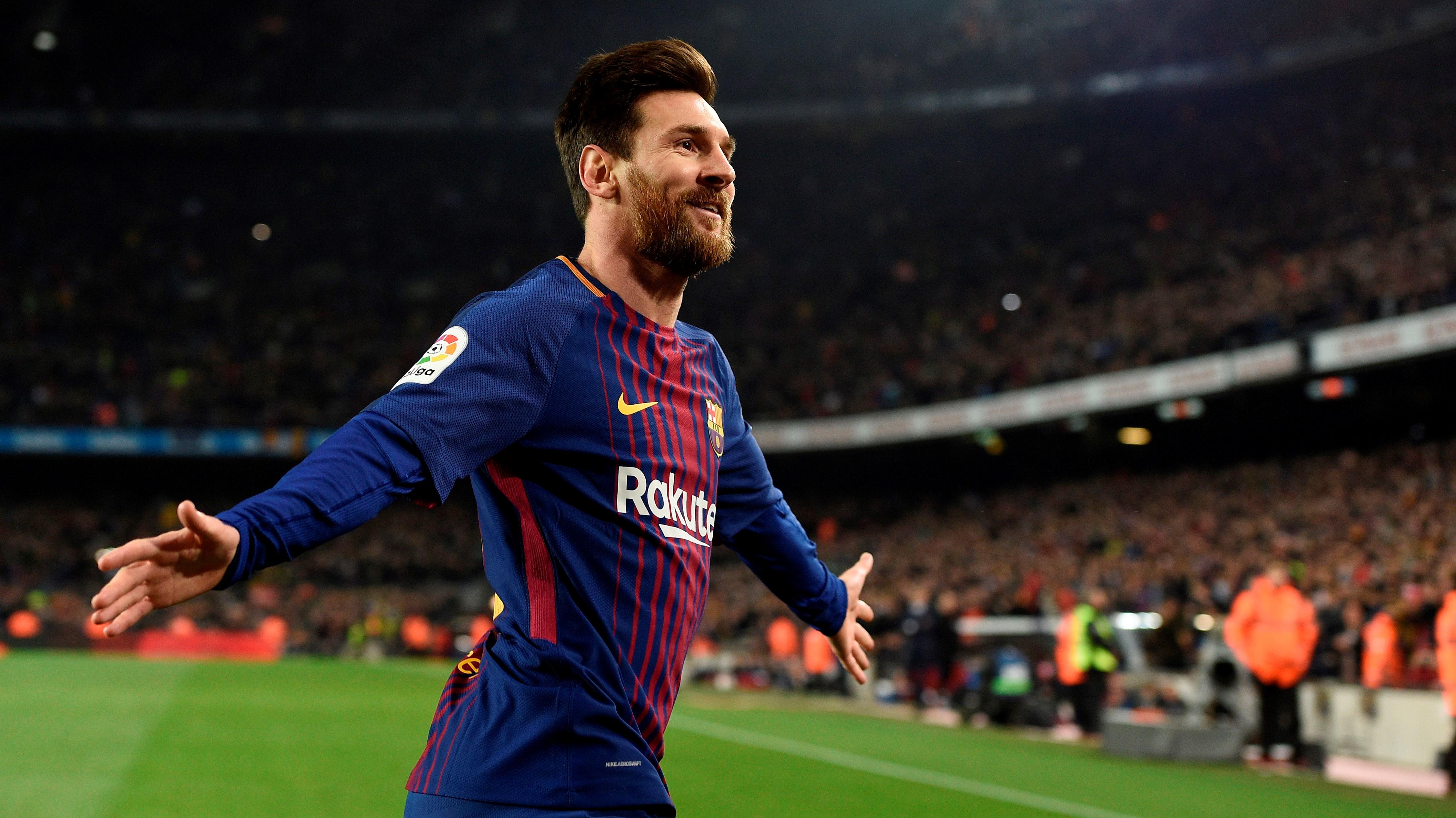 Wallpaper Lionel Messi Con El Barcelona Images - Barcelona Vs Sevilla 2018 Final Copa Del Rey , HD Wallpaper & Backgrounds