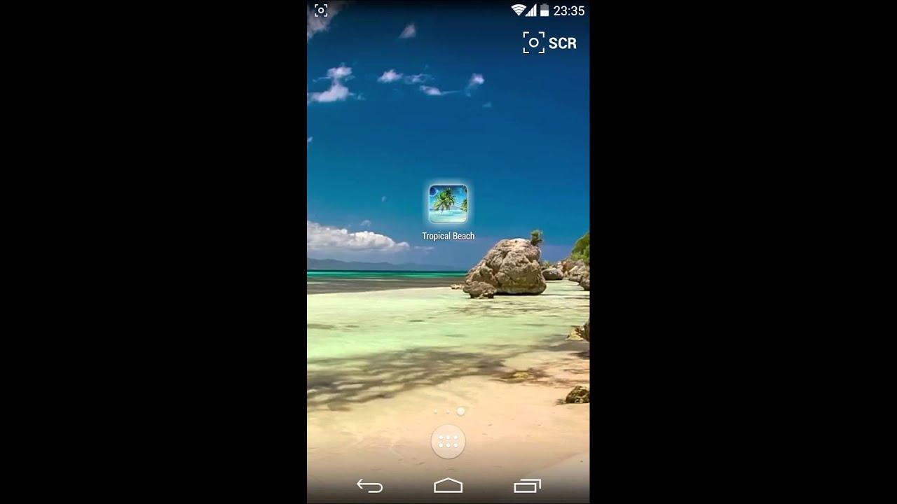 Tropical Beach Live Wallpaper Smartphone 524122 Hd