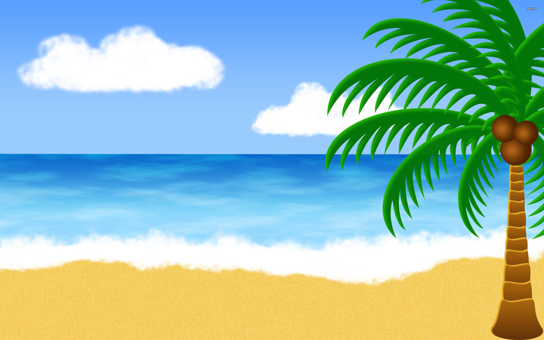 Animated Beach Wallpaper Hawaiian Beach Background Clipart 524688 Hd Wallpaper Backgrounds Download