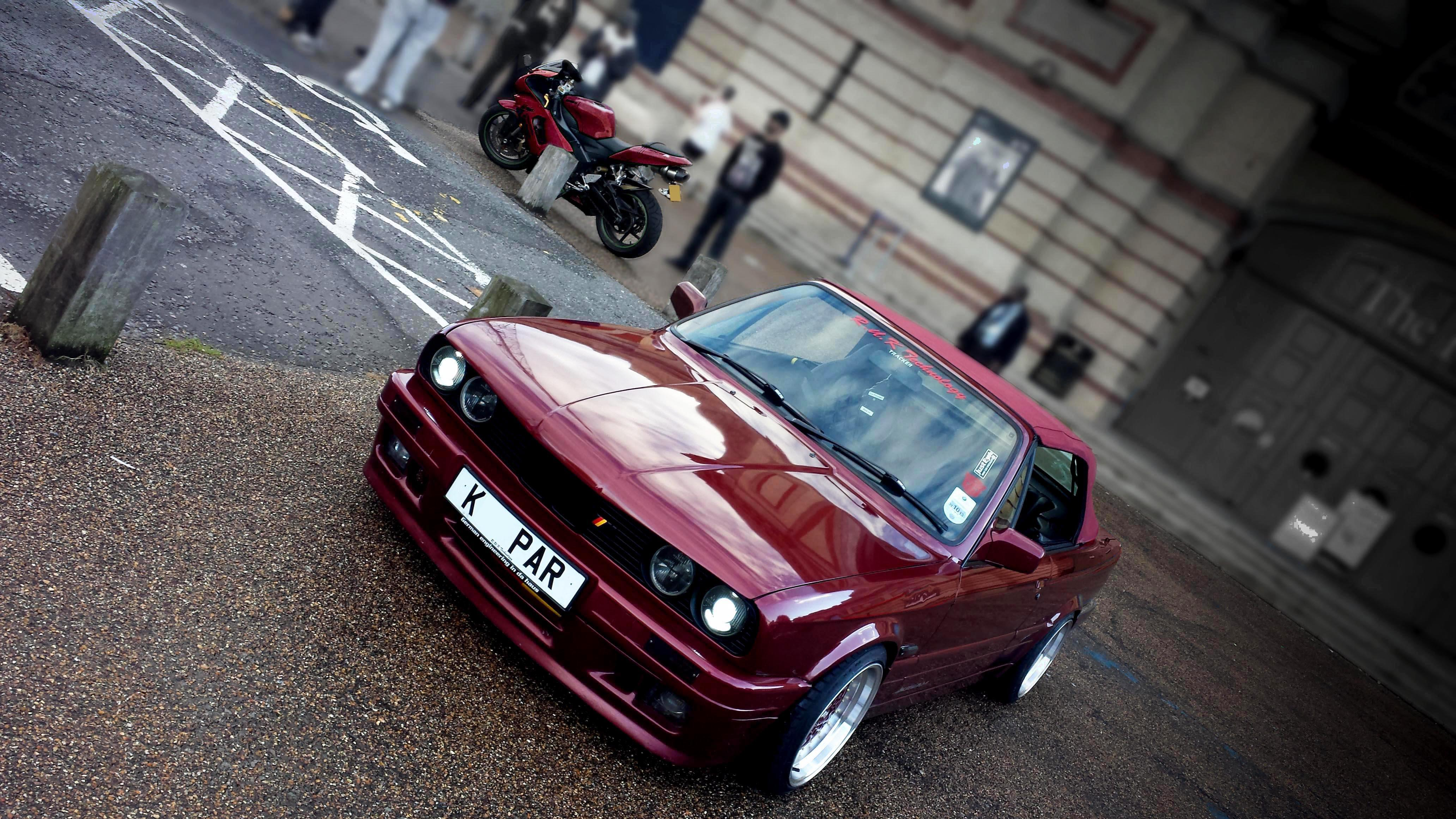 E30 Bmw Calypso Red 524762 Hd Wallpaper Backgrounds Download