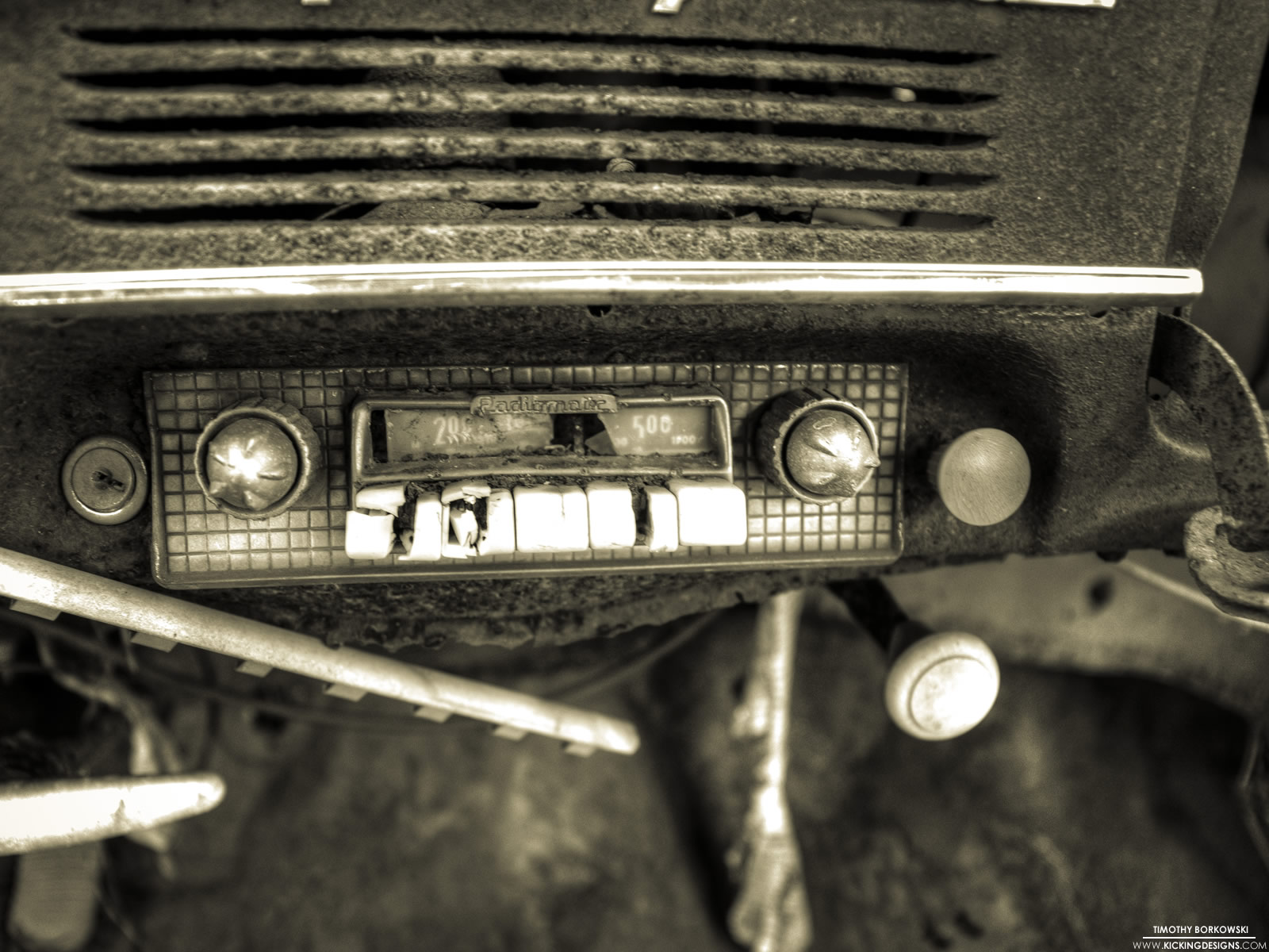 Old Radio In Car , HD Wallpaper & Backgrounds