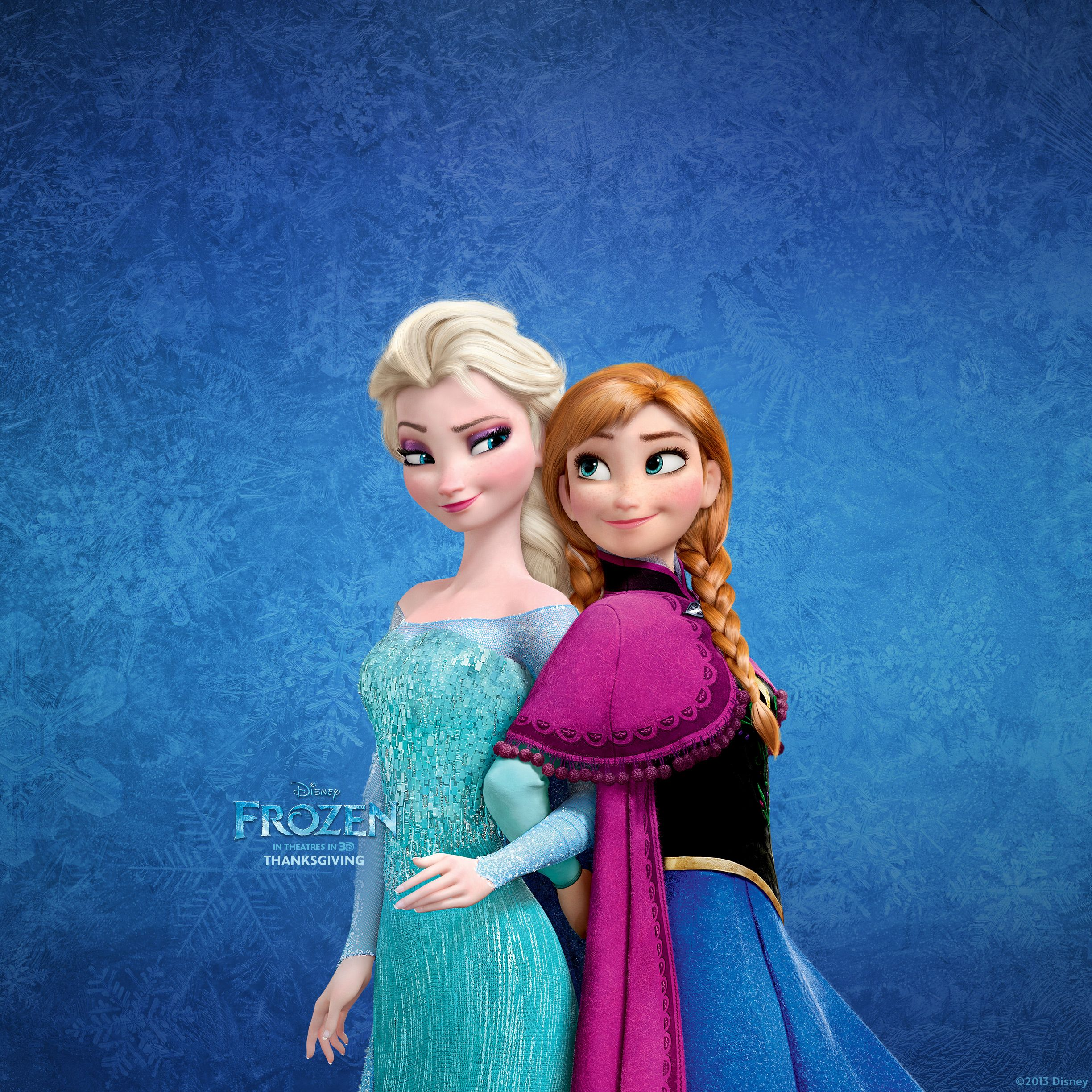 Frozen Elsa And Anna Wallpaper For Ipad Frozen Hd 532850 Hd