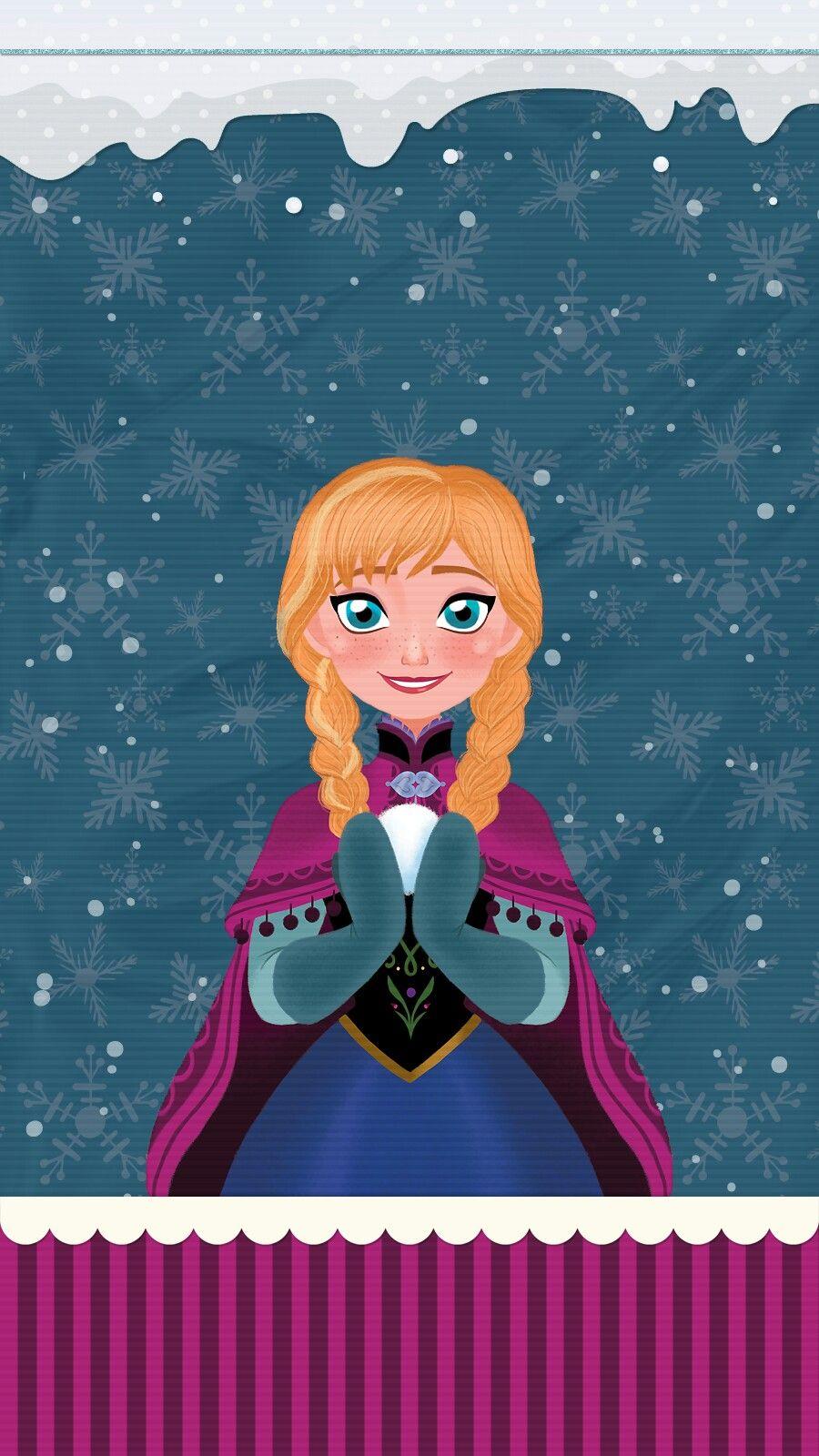 Frozen Anna Elsa Wallpaper Iphone Android Imagenes De Fondo