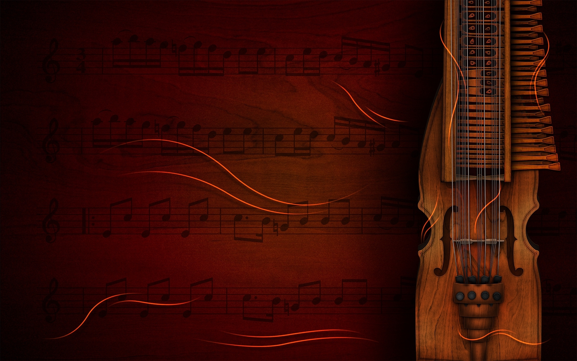 Wallpapers Hd Musica Clasica - Musical Instruments Background , HD Wallpaper & Backgrounds