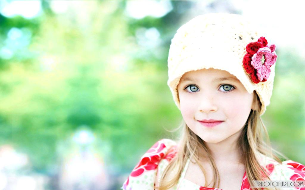 Wallpaper For Babies New Cute Baby With Beautiful Eyes - Good Mrng Cute Girl , HD Wallpaper & Backgrounds