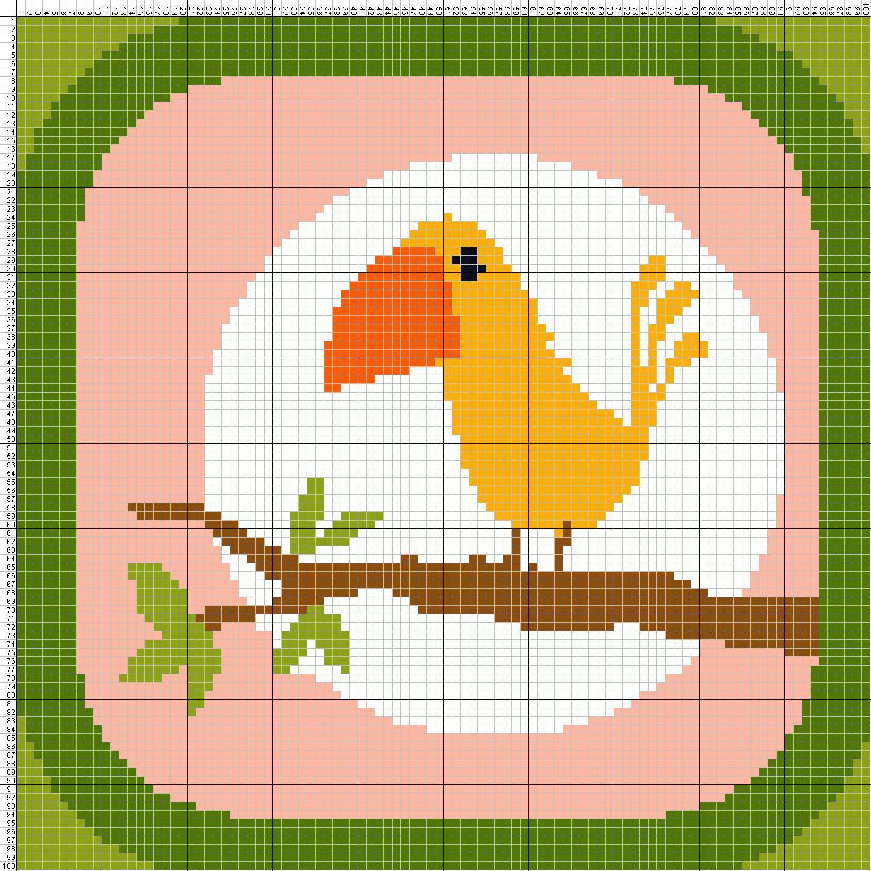 Lucu Animasi Burung Ktawaayo Ketawa Pohon Dan Burung