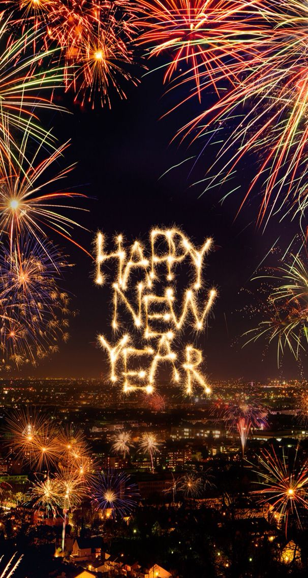 Happy New Year Type - Happy New Year Big , HD Wallpaper & Backgrounds