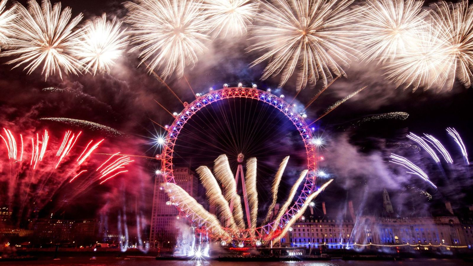 Security For New Year's Eve Celebrations Reviewed, - London Eye New Years Eve Fireworks , HD Wallpaper & Backgrounds