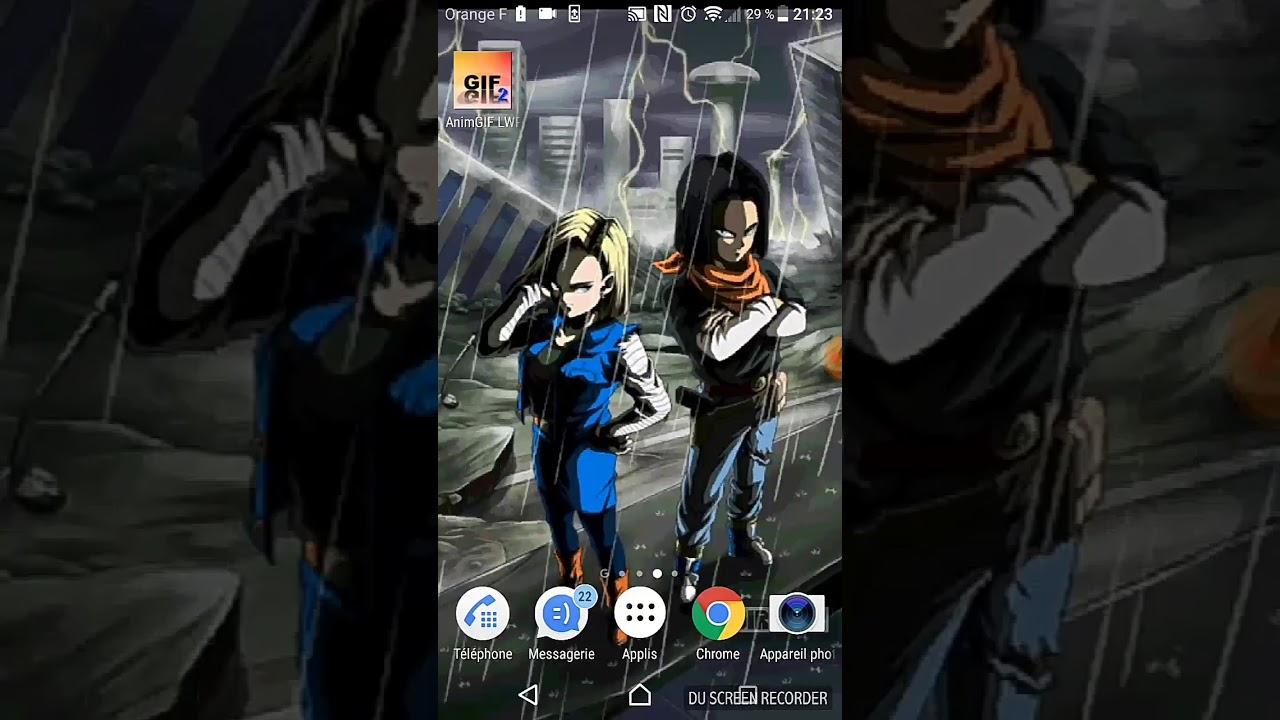 Live Wallpaper Dokkan Battle Lr Lr Android 17 And 18 545184