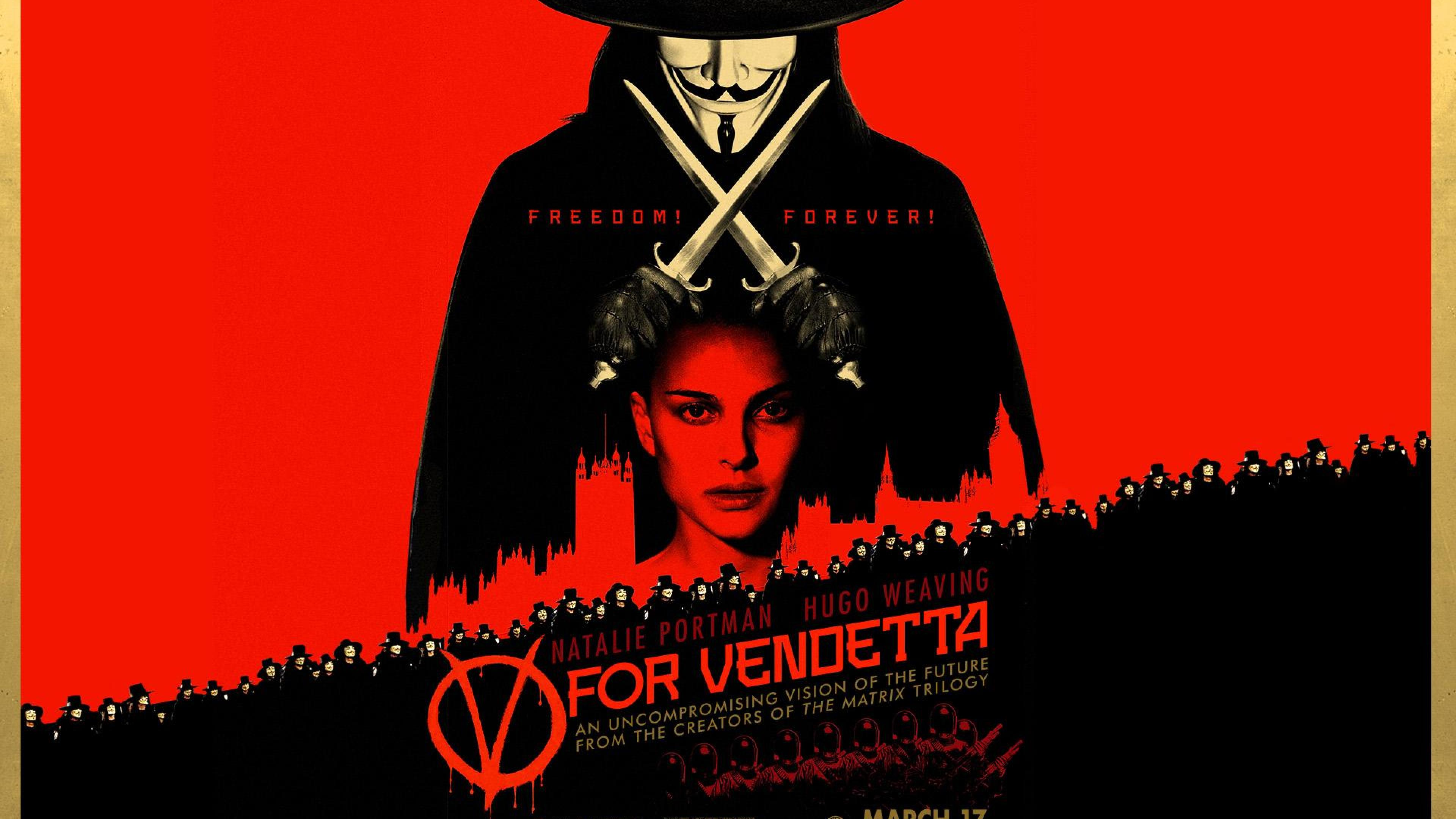 V De Vendetta Wallpaper V For Vendetta 2005 547001 Hd