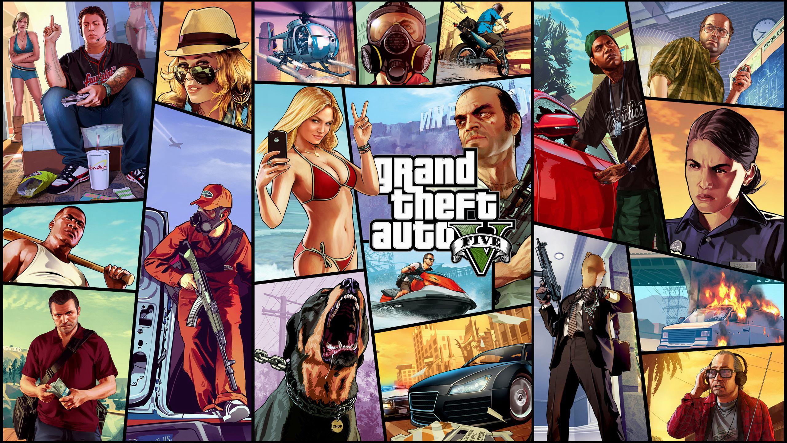 Grand Theft Auto V 壁紙 , HD Wallpaper & Backgrounds
