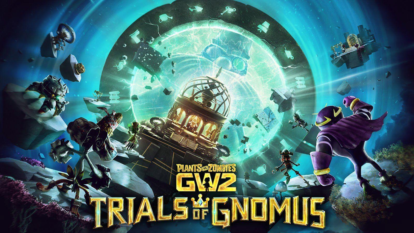 Plants Vs Zombies Gw2 Trials Of Gnomus 548893 Hd Wallpaper
