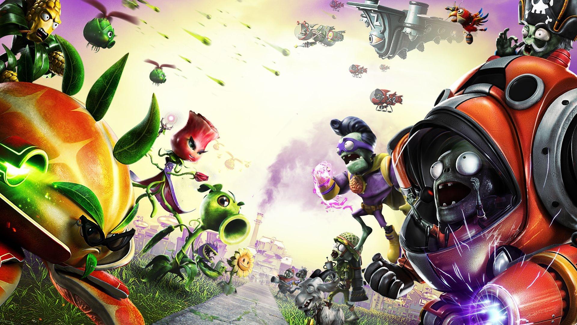 Plants Vs Zombies Garden Warfare 2 549143 Hd Wallpaper