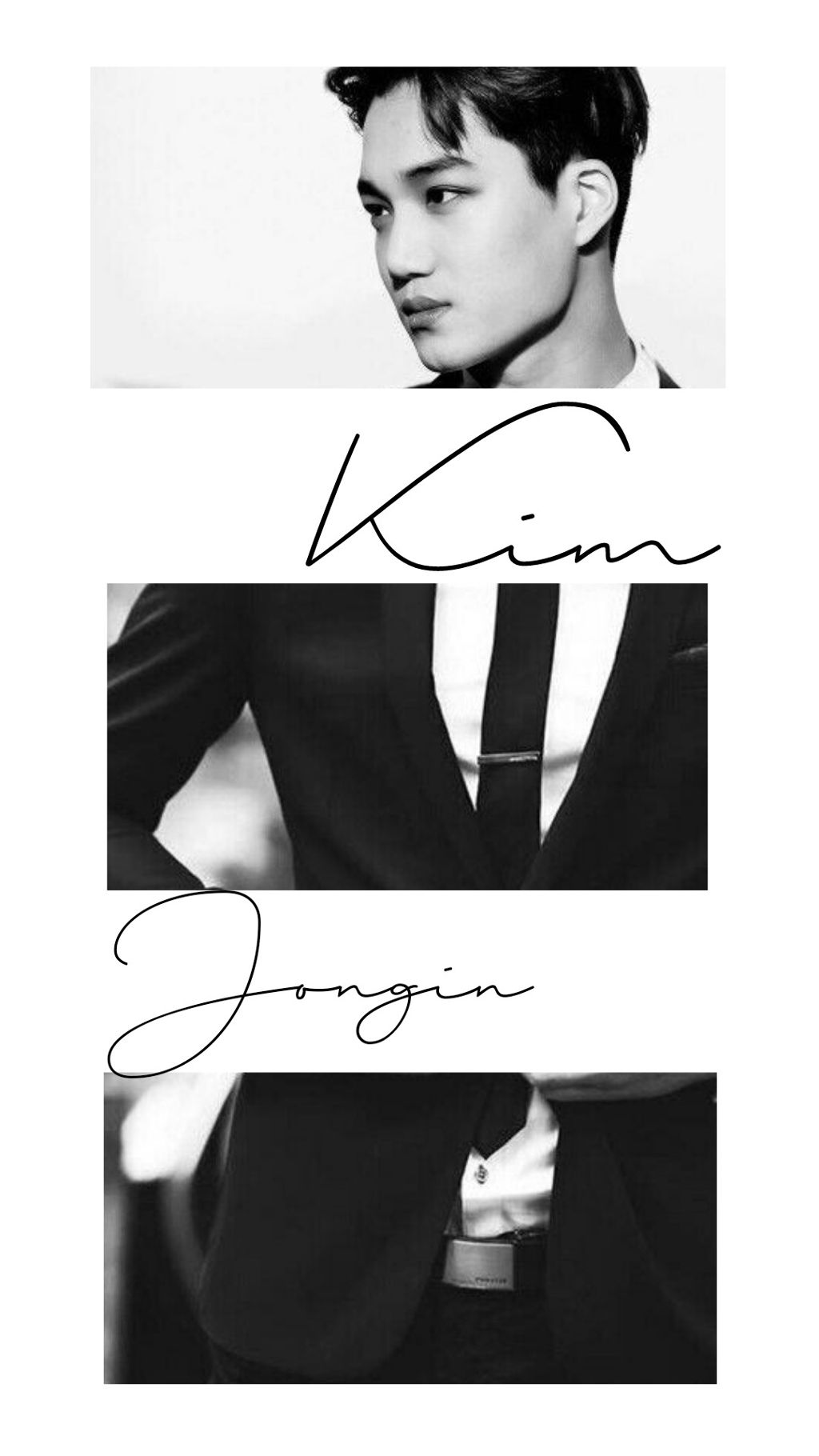 Exo Kai Kim Jongin Wallpaper White Man Black Suit 550622 Hd Wallpaper Backgrounds Download
