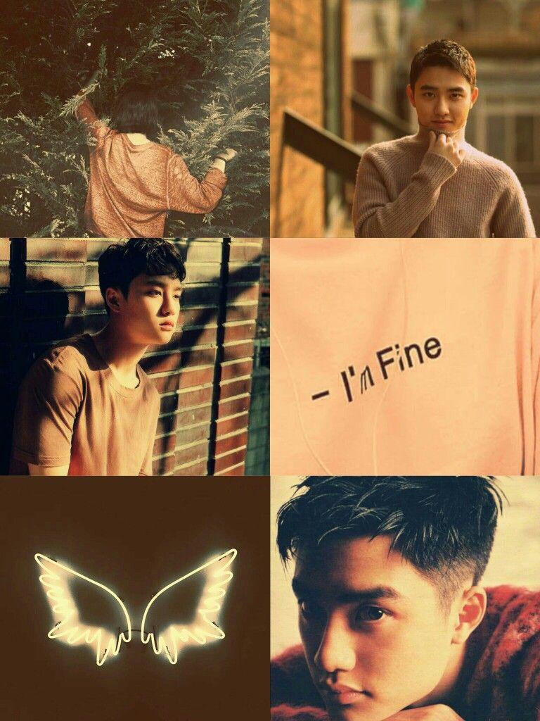 O #kyungsoo #wallpaper #lockscreen #aesthetic #kpop - Exo Do Aesthetic , HD Wallpaper & Backgrounds
