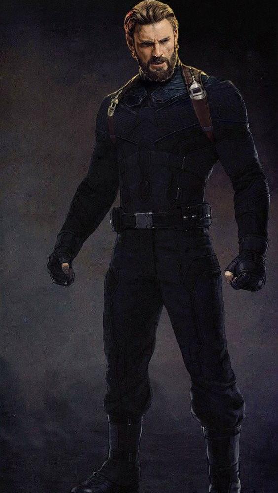 Avengers Infinity War Captain America Iphone Wallpaper - Captain America Infinity War Full Suit , HD Wallpaper & Backgrounds