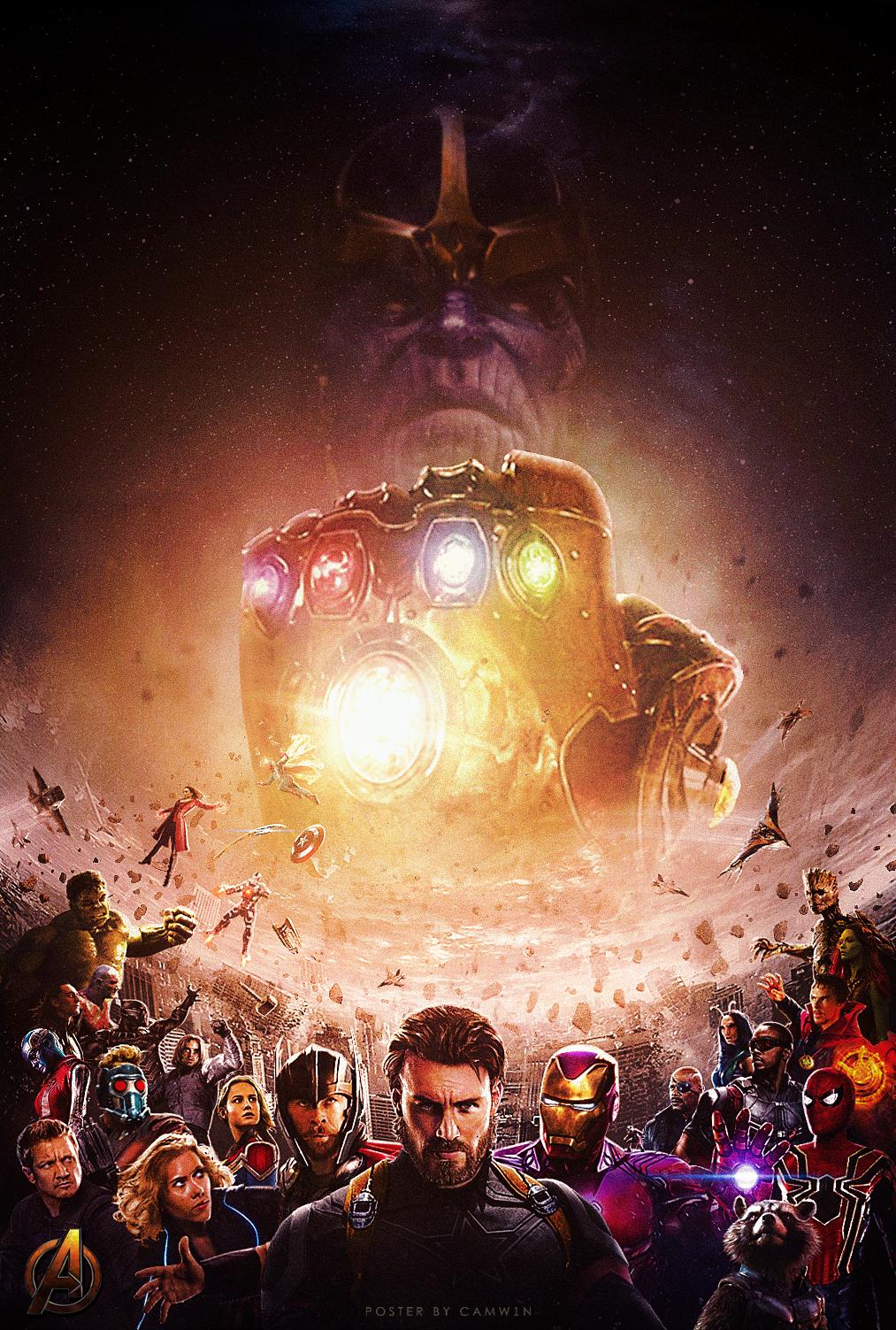 Fan Madea Fan-made Poster For Avengers Infinity War - Avengers Infinity War 4k , HD Wallpaper & Backgrounds