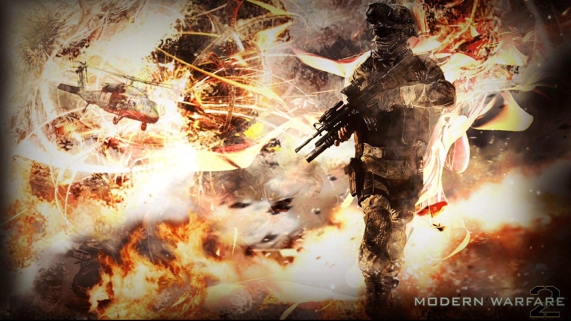 Call Of Duty Duty Modern Warfare 2 552009 Hd Wallpaper
