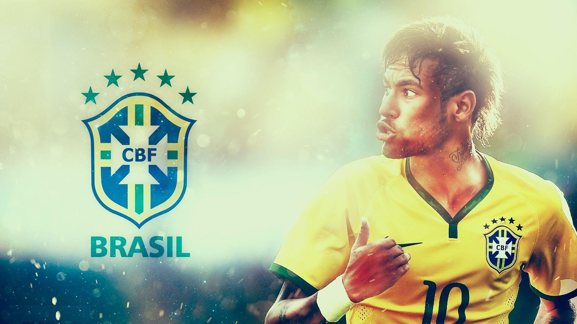 Neymar Brazil Wallpapers - Neymar Jr 2014 World Cup , HD Wallpaper & Backgrounds