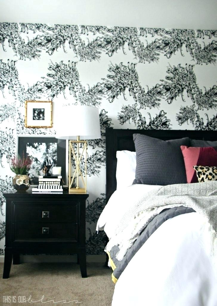 Master Bedroom Wallpaper Accent Wall Master Bedroom - Accent ...