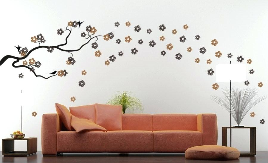 Wall Sticker Decoration Ideas Image Of Vinyl Wall Decals - Design For Home Wall , HD Wallpaper & Backgrounds
