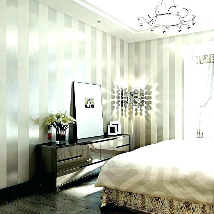 Glitter Wallpaper Bedroom Ideas Silver Wallpaper For Bedroom