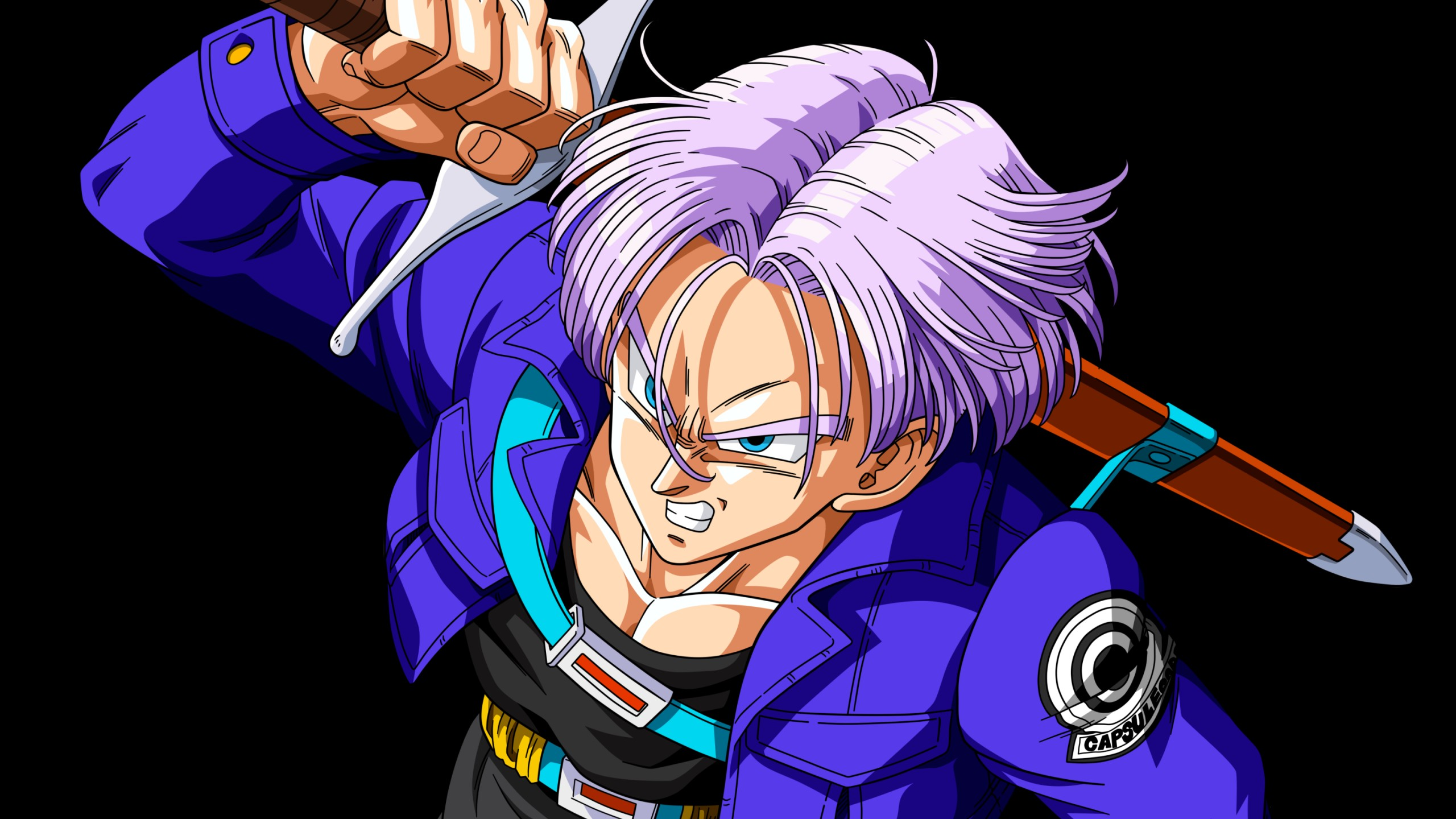 Download Future Trunks Keychain Future Trunks Kid Dragon Ball Z