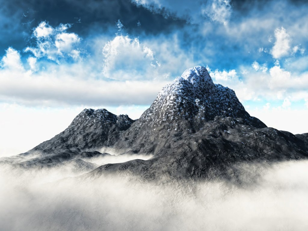 Free Mountain Wallpaper - Mountain Background Images Hd , HD Wallpaper & Backgrounds