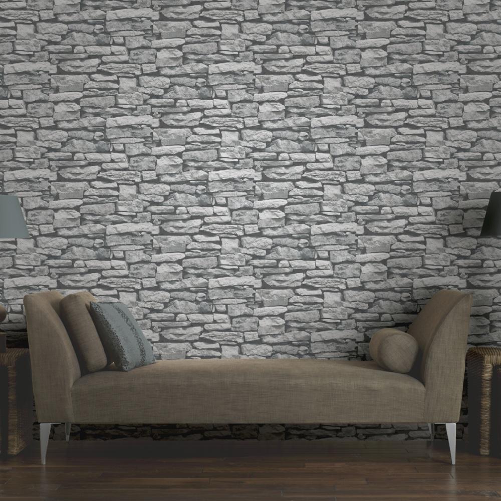 55 557792 arthouse vip moroccan stone wall grey brick effect